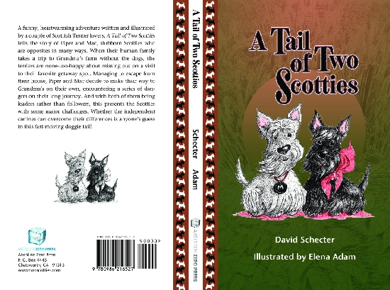 A Tail of Two Scotties Book Cover